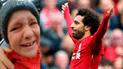 Tierno gesto de Mohamed Salah hace llorar a pequeño hincha de Liverpool [VIDEO]