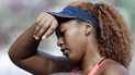 El sufrimiento de Naomi Osaka por perder el Torneo de Tokio