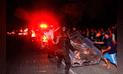 Siete heridos  en accidente en carretera Sullana – Tambogrande