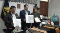 Dos empresas firman convenio interinstitucional con INPE