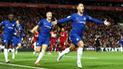 Liverpool perdió 2-1 ante Chelsea y quedó fuera de la Copa de La Liga [GOLES]