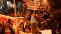 Cercado de Lima: miembros de la CGTP realizaron marcha contra la corrupción [VIDEO]