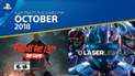 PlayStation Plus: Estos son los juegos gratuitos para octubre [VIDEO]
