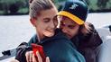 Justin Bieber y Hailey Baldwin captados en momento íntimo dentro de un yate