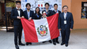 Alumnos ganaron dos medallas de oro en Olimpiada Iberoamericana de Química