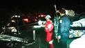 Talara: chofer muere al impactar unidad contra tráiler