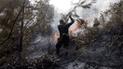 Cajamarca: incendio forestal en reserva del Ilucán
