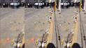 Exalumnos de institución emblemática  ensuciaron calles de Chiclayo