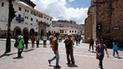 Candidatos de Cusco realizan plantón en rechazo a la corrupción