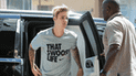 Justin Bieber se enfrenta su chofer en la calle y el final esimpactante [VIDEO]