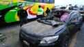 Choque entre automóvil y bus deja un muerto en La Libertad