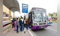 Los 5 corredores viales de Lima operan a medias y aún compiten con 200 rutas