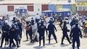 Dos heridos dejó como saldo el bloqueo de la vía de ingreso a Talara