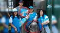 Acusan a candidato de La Molina por repartir pelotas de fútbol [VIDEO]