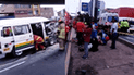 Accidente de tránsito ocasiona tráfico vehicular en Surco