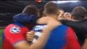 ¡Por todo lo alto! La efusiva celebración de CSKA Moscú tras derrotar al Real Madrid en Champions [VIDEO]