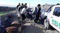 Arequipa: Hallan cadáver de heladero abandonado en chacra por más de 7 días