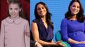 Meghan Markle y Kate Middleton se inspiran en los outfits de la infanta Sofía [FOTOS]