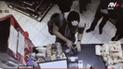 Miraflores: cámaras captaron a delincuentes usando nueva modalidad para robar en minimarket [VIDEO]