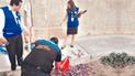 Tumbes: hallan residuos biocontaminantes en plena vía pública