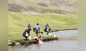 Huancavelica: Repueblan laguna Chancahuasi y río Aurahuá con 111 millares de alevinos