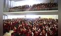 Junín: Unchupaico recibió el repudio de los estudiantes del Santa Isabel [VIDEO]