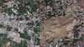 Indonesia: el impactante antes y después del terremoto y tsunami que azotó al país