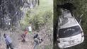 Vehículo cae al abismo dejando un muerto y varios heridos en Cusco [VIDEO]