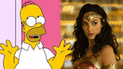 Gal Gadot aparece en 'Los Simpson' y Homero la 'trolea' con Wonder Woman