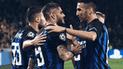 Inter de Milán derrotó 2-1 al PSV por la Champions League [RESUMEN]