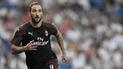 Milan venció a Olympiacos con gol de Higuaín por la Europa League [VIDEO]