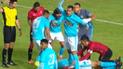 Sporting Cristal vs Melgar: Omar Merlo asustó tras recibir cabezazo de Cuesta [VIDEO]