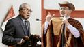 Cuestionado fiscal de la Nación amenaza al presidente Martín Vizcarra