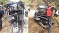 Junín: vehículo que trasladaba a candidato regional se accidenta