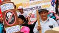 Pasco: realizan pasacalle para informar a la población sobre las medicinas bamba