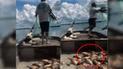Facebook: El pescador más 'tonto del mundo' sorprende con inesperado blooper [VIDEO]