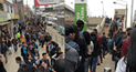 Reportan demora de vagones, caos y saturación en estaciones del Metro de Lima [VIDEO]