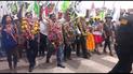 Música, danzas y caravanas en cierre de campaña en Juliaca [VIDEO]