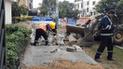 Reparación de veredas suscita molestia en vecinos de Jesús María