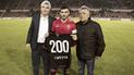 Bernardo Cuesta llegó a los 200 partidos con Melgar