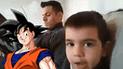 Facebook: pequeño fan de Dragon Ball realizó extraño pedido y así reaccionó su padre