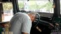 Facebook: Chofer se queda dormido al volante, pero muestra su extraño secreto [VIDEO]