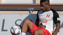 Jefferson Farfán quedó desconvocado de la Selección Peruana