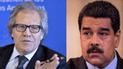 """Luis Almagro: """"lo que la gente quiere y pide es que saquen a Maduro"""""""