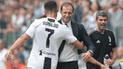 DT de Juventus respaldó a Cristiano Ronaldo por graves acusaciones