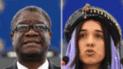 Premio Nobel de la Paz distingue a Denis Mukwege y Nadia Murad, activistas contra la violencia sexual