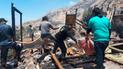 Piura: incendios reducen a cenizas  dos viviendas