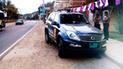 Tumbes: vehículo policial se despista en la Panamericana Norte