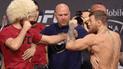 McGregor vs Khabib protagonizan encendido careo previo a UFC 229 [VIDEO]
