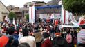 Huancavelica: Cierre de campaña con discursos vagos, bronca y borrachera